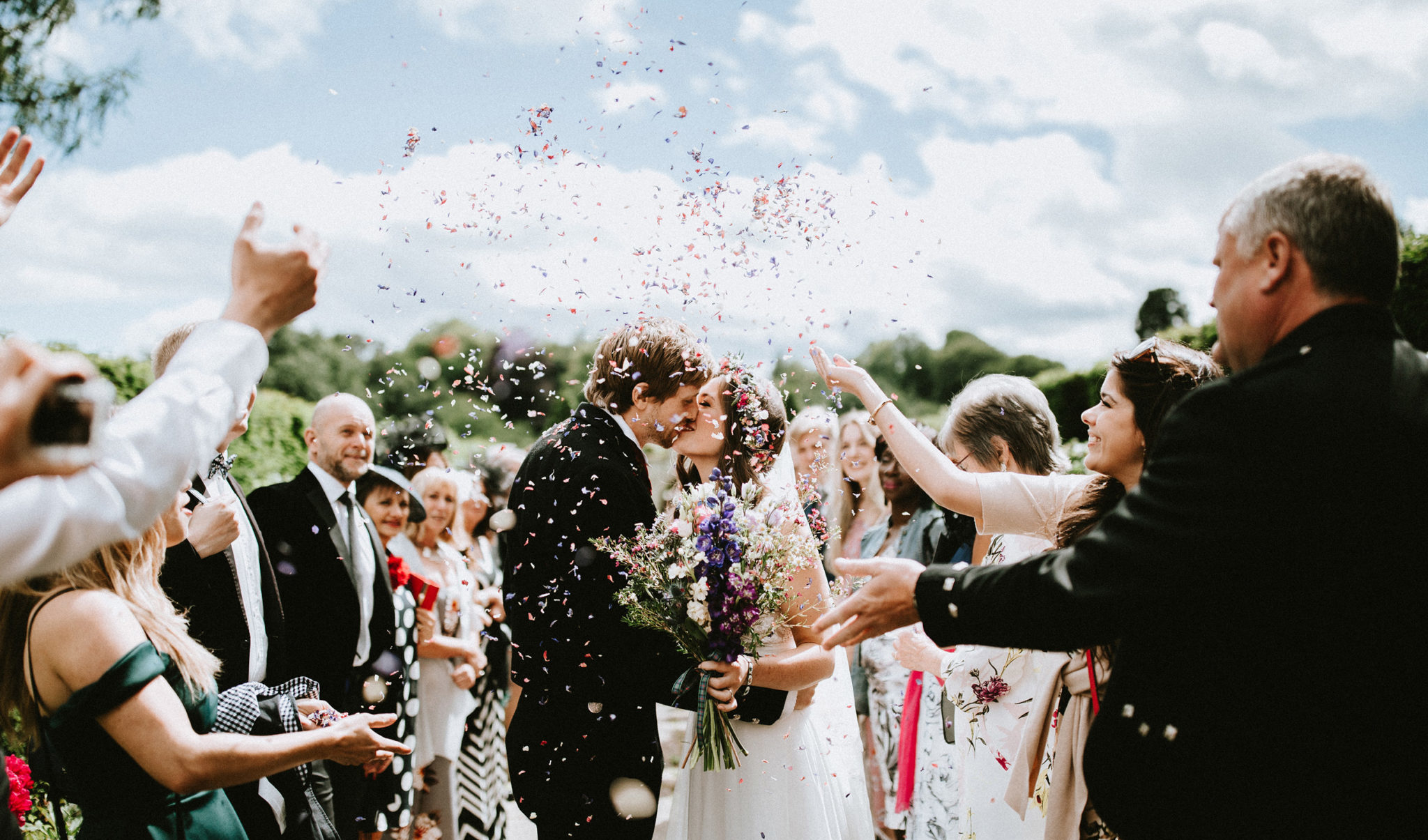 Scotland confetti Norway elopement wedding photographer
